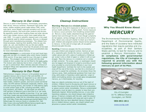 mercury - City of Covington, Louisiana