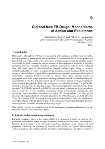 Old and New TB Drugs: Mechanisms of Action and