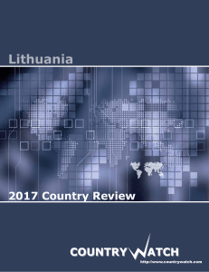 Lithuania - Country Watch