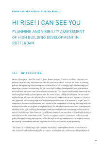 HI RISE! I CAN SEE YOU - Research in Urbanism Series