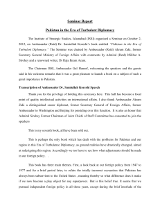 View PDF File - Institute of Strategic Studies, Islamabad