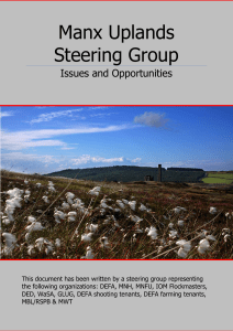 Manx Uplands Steering Group