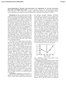 MASS-INDEPENDENT ISOTOPE FRACTIONATION OF CHROMIUM