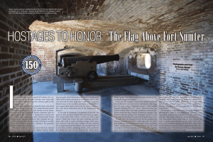 t`s astonishing just how small Fort Sumter, S.C., is. Five minutes at a
