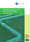 Potential Earnings Impacts from Climate Change: Energy Infrastructure