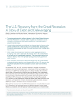 The US Recovery from the Great Recession: A