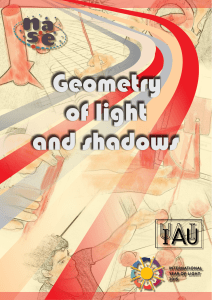 Geometry of light and shadows