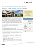 Terumo BCT: Process Efficiency Program Provides Three Steps to