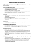 BIology A Reviews Sheet