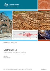 Earthquakes - cloudfront.net