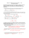 Genetics problems supplemental_KEY