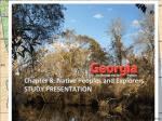 Chapter 8: Native Peoples and Explorers STUDY PRESENTATION