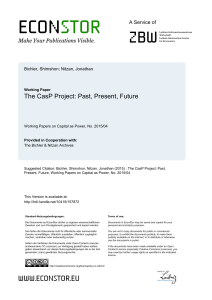 The CasP Project: Past, Present, Future