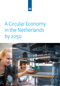 A Circular Economy in the Netherlands by 2050