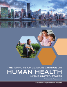 The Impacts of Climate Change on Human Health