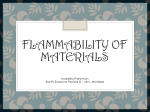 flammability of materials