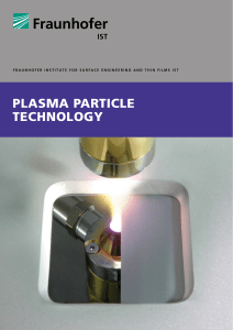 v Plasma Particle Technology