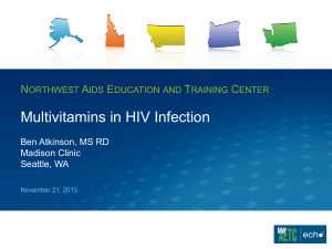 Multivitamins in HIV Infection PDF