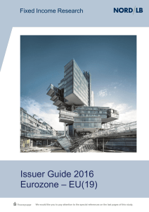Issuer Guide 2016 Eurozone – EU(19)
