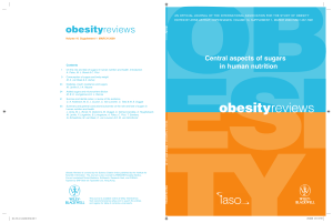 Obesity reviews