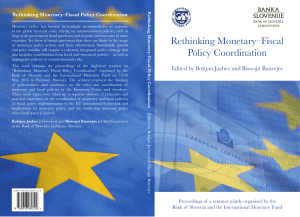 Rethinking Monetary–Fiscal Policy Coordination