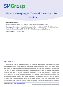 Nuclear Imaging in Thyroid Diseases