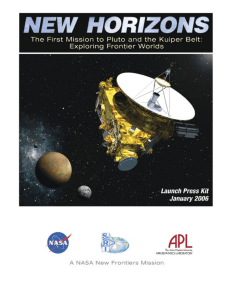Launch - Pluto - JHUAPL - The Johns Hopkins University Applied