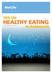 TIPS ON HEALTHY EATING
