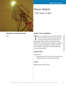 The Tides of War - National Math and Science Initiative