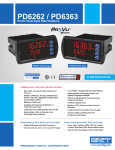PD6363 Data Sheet - Precision Digital
