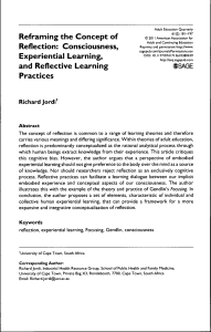 and Reflective Learning Practices