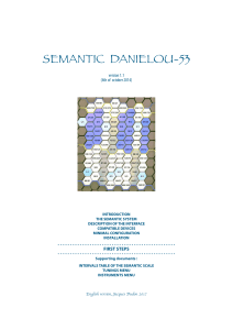 Semantic manual - Semantic Daniélou