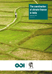 The coordination of climate finance in India