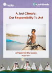 A Just Climate: Our Responsibility To Act