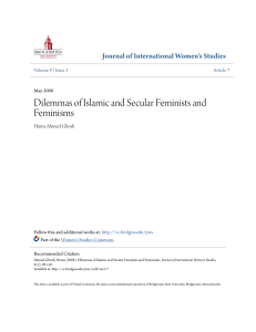 Dilemmas of Islamic and Secular Feminists and Feminisms