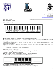 lhs music theory homework 1.Basic note reading