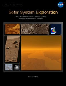 Solar System Exploration - Lunar and Planetary Institute