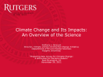 Anthony Broccoli presentation - New Jersey Climate Adaptation