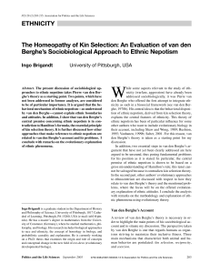 The Homeopathy of Kin Selection