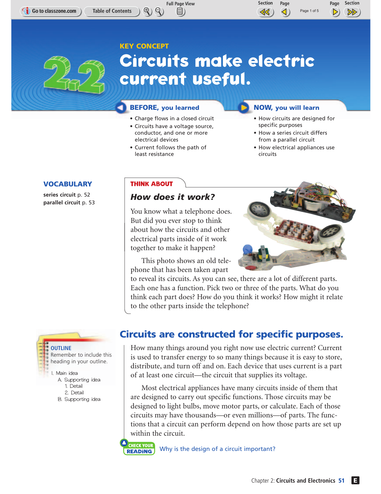 Circuits Make Electric Current Useful Build A Circuit Is Path That Electricity Flows Along It