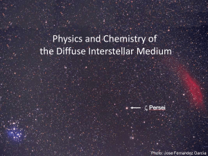 10) Physics and Chemistry of the Diffuse Interstellar Medium