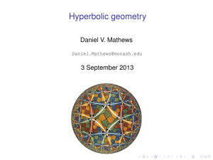 Pdf slides - Daniel Mathews