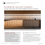 building wood towers