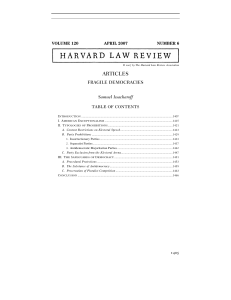 ARTICLES - Harvard Law Review