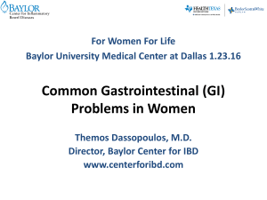Common Gastrointestinal (GI) Problems in Women