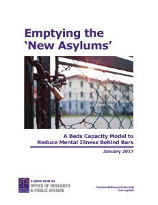 Emptying the `New Asylums` - Treatment Advocacy Center