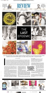 the last epidemic - Wall Street Journal