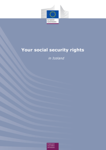 Social security and insurance - European Commission