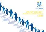 Unilever Project Sunlight - Inspiring Sustainable Living Report