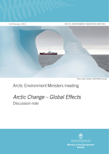 Arctic Environment Ministers meeting